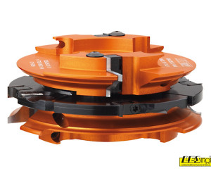 Profile and counter profile cutter head to make doors and furniture on soft and hardwood CMT 694.015 thickness 37-48 mm