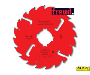 Thin kerf saw blades with rakers