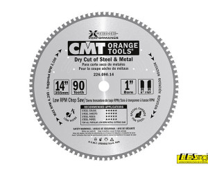 Dry cutter saw blades for metal