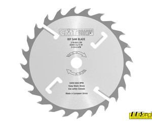 Ripping saw blades with rakers