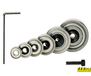 Bearing and spare part kit for rabbeting bits CMT 791.703.00