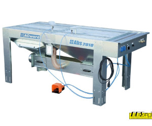 Extracting sanding tables ACWORD ABS