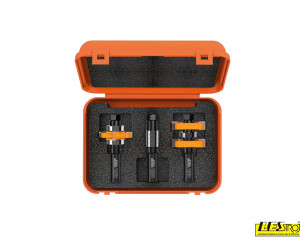Adjustable tongue and groove bit set 900.625.11