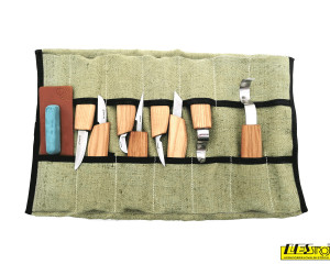 Wood carving set S08