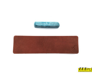 Leather strop with polishing compound LS2P1