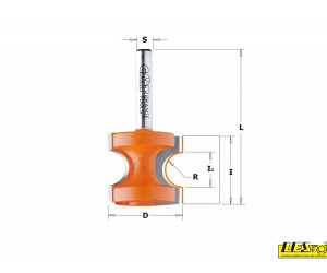 Bead and bull nose router bit 954.